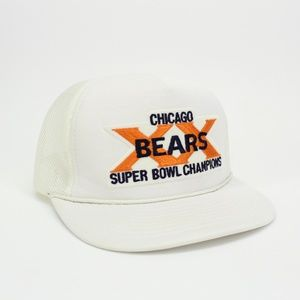 Vintage Chicago Bears XX Superbowl Champions Hat